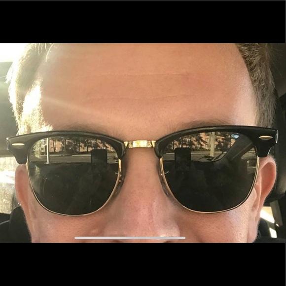 540ad6d8074c Ray-Ban Clubmaster Black 49mm Sunglasses RB3016. M 5c55c9b612cd4a6f099392f1